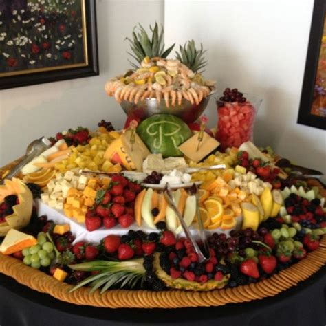 Wedding fruit and cheese table   yummy yummy   Pinterest