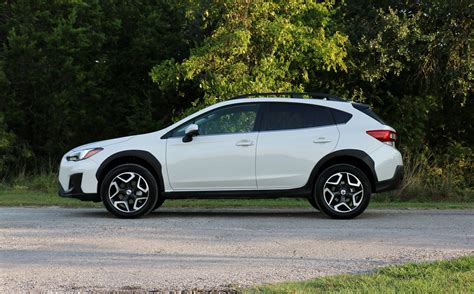 subaru crosstrek white 2018 2018 subaru crosstrek 2 0i limited test drive review