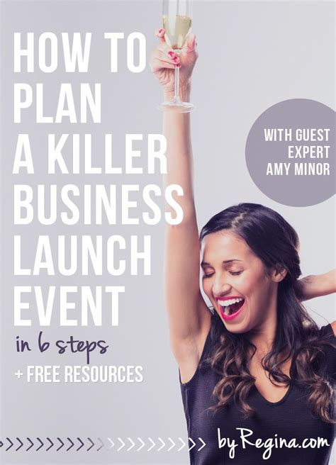 The Ultimate 6 Step Plan To Launching A Successful how to plan a killer business launch event in 6 steps