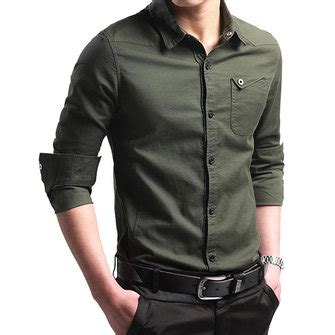 Huf 5 Kemeja Pria by Road Fashion Handsome Style Slim Fit Cotton