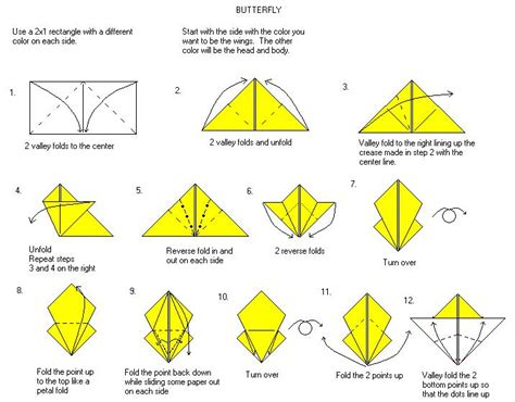 How To Fold Origami Butterfly - one for the kid in all of us origami insects i insects