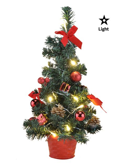 mini light up christmas tree mini pre lit christmas tree 75cm 60cm 45cm 2ft decoration