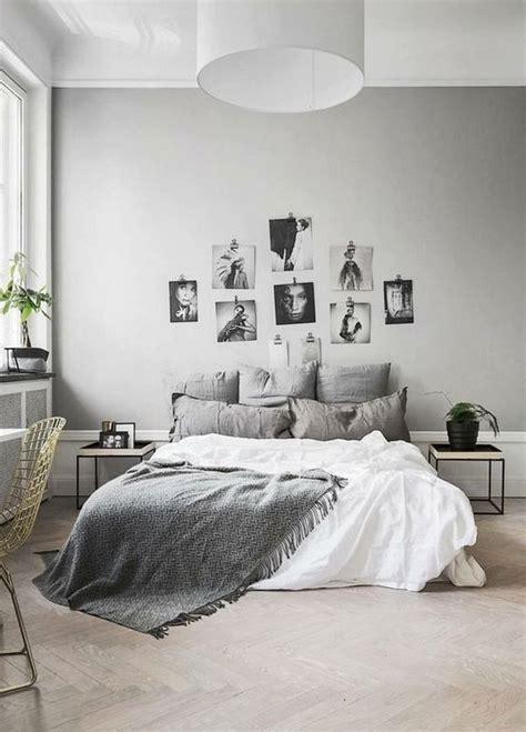 minimalist grey teenage girl bedroom design  decor