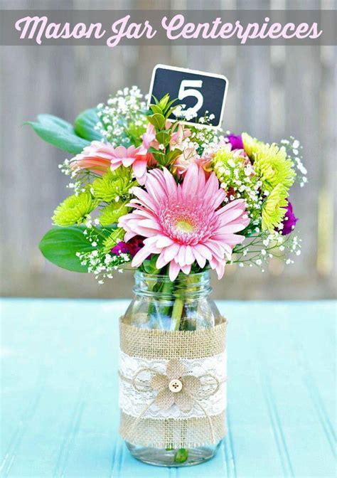 15 jar decor centerpiece ideas diy to make