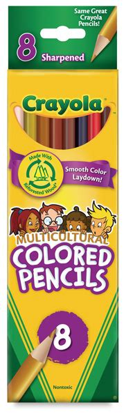 crayola skin color crayola multicultural colored pencils blick materials