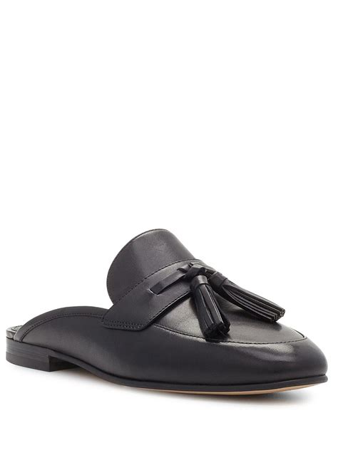 7947 Black Clutch lyst sam edelman leather slip on mules in black