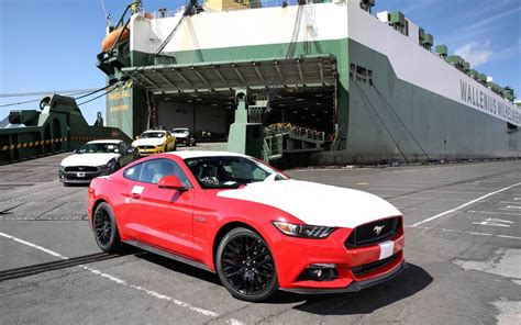 ford mustang 2016 australia ford mustang orders arrive in australia sold out
