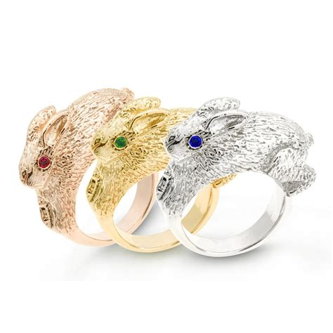 Bunny Ring the order of the bunny rings jm edwards jewelry