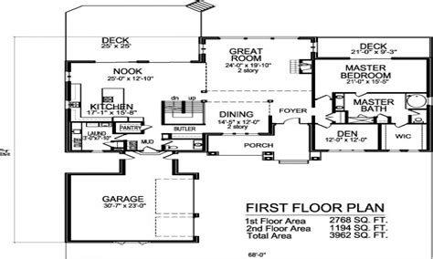 Open Floor House Plans Two Story | 3 story brownstone floor plans 2 story open floor house
