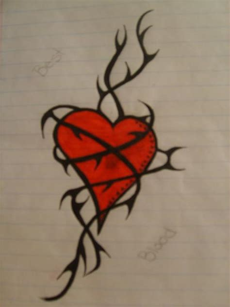 heart vine tattoo designs simson