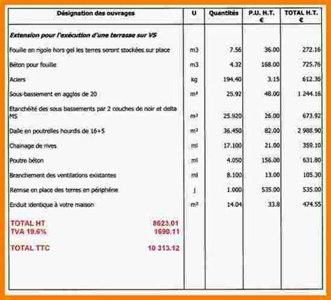 Exemple Devis Electricite Pdf 3935 by Devis Electricien Batiment Tuto 233 Lectricit 233 Tableau