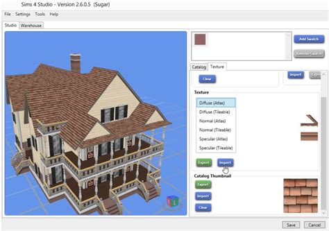 how to use studio 4 how to recolor a sims 4 roof using sims 4 studio