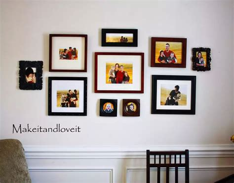 wall photo frame collage photo collage frames on wall www imgkid the image
