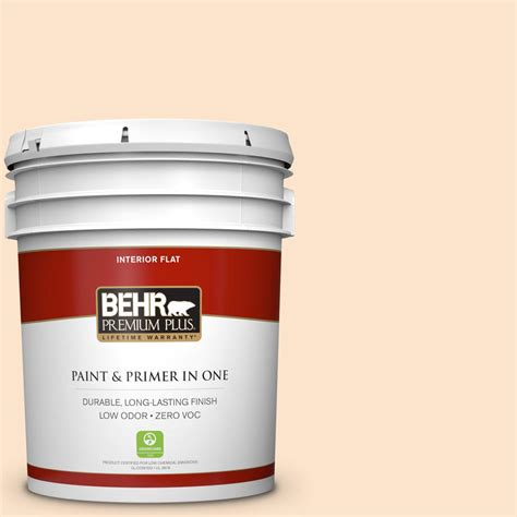 home depot paint with sand behr premium plus 5 gal 300c 2 sand dollar white zero