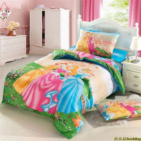 little girl bedding sets full 3pcs fairy pricess girls kids character bedding sets twin