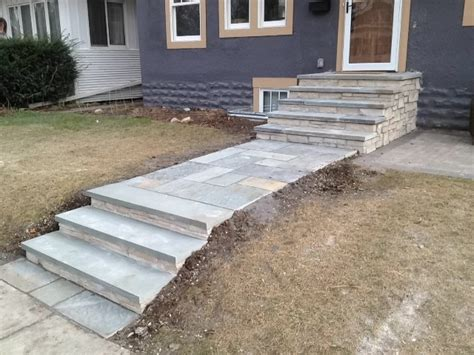 front steps and walkways transitional landscape minneapolis by english stone