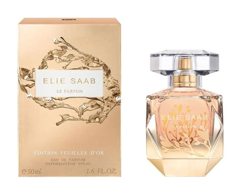 Parfum Ori Elie Saab Le Parfum Edp 50 Ml No Box le parfum edition feuilles d or elie saab perfume a new fragrance for 2017