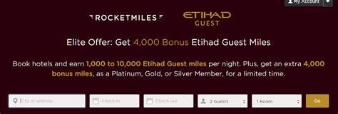emirates rocketmiles rocketmiles etihad miles promo earn at least 4 000 etihad