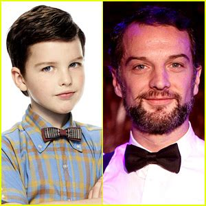 how old is actor young sheldon young sheldon star iain armitage s famous dad raves