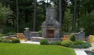 Garden Chimney Patio Chimney Pit Fireplace Design Ideas
