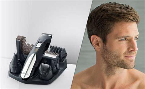 diversi tagli di barba rasoio elettrico regola barba taglia capelli e trimmer