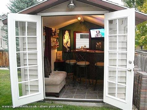 Epic Bar Shed Plans by Best 25 Shed Ideas On Garden Shed
