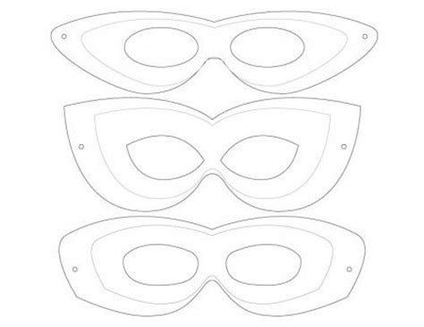 make your own mask template 10 minute costume masks printable templates