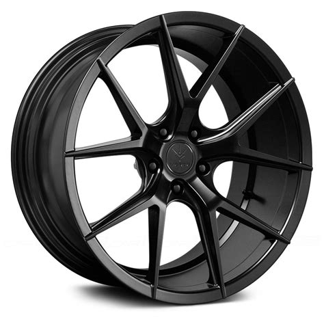black wheels verde 174 v99 axis wheels satin black rims