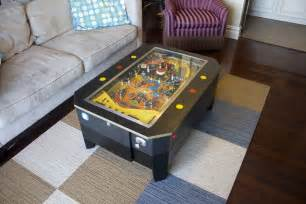 Made Coffee Tables Handmade Pinball Coffee Table By Wooden It Be