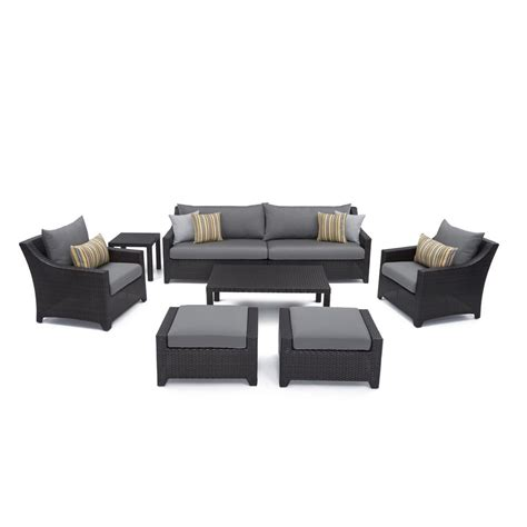 rst brands deco 8 patio sofa and club chair