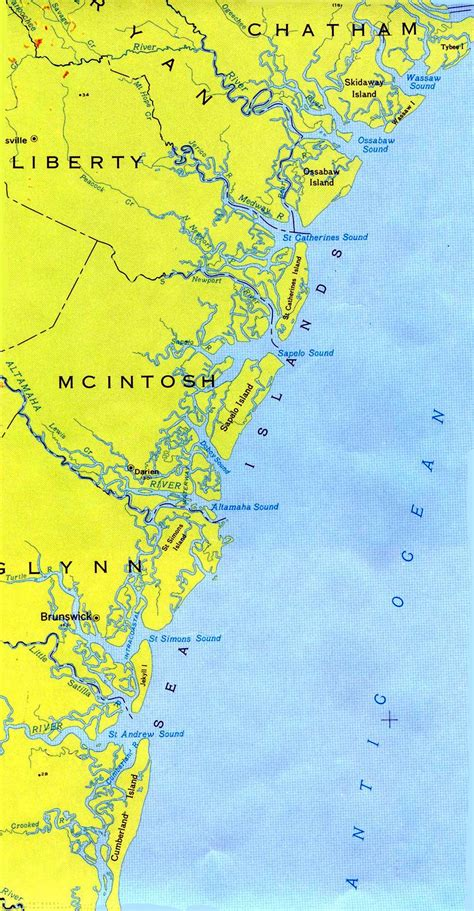 barrier islands map seanet goes to seanet