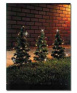 6 mini prelit pathway trees christmas tree review