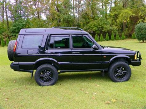 auto air conditioning service 2003 land rover discovery user handbook purchase used java black 2003 land rover discovery series ii se in clayton north carolina