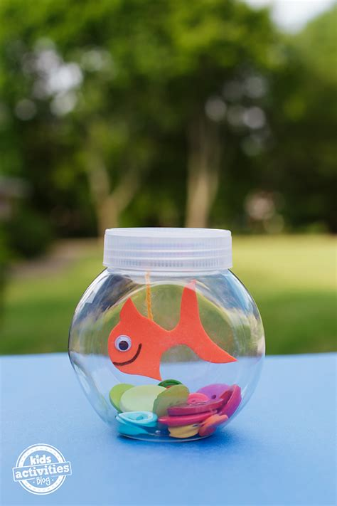 mini craft projects mini fishbowl craft for