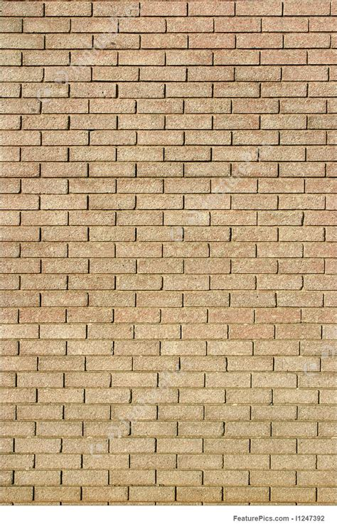 large light color brick wall picture