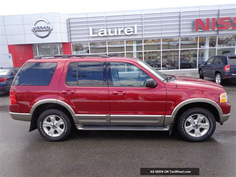 2003 ford explorer eddie bauer 2003 explorer eddie bauer 4x4 4 0l v6 3rd row seating