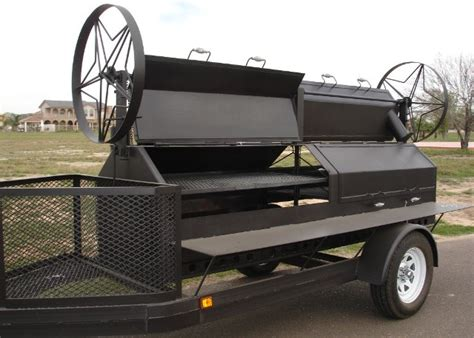 Handmade Barbecue Grills - country bbq pits portable trailer bbq smokers and grills