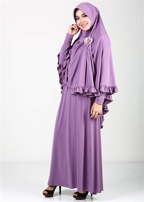 Model Baju Gamis Muslim 15 Model Baju Muslim Gamis Artis Modern Terbaru 2017
