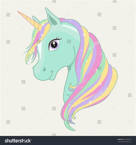 believe in miracles a unicorn coloring book unicorn coloring books volume 1 books green mint unicorn vector rainbow stock vector