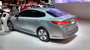2017 kia optima hybrid in auto show debut and features