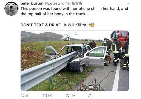 facts matter crash photo misrepresented  message