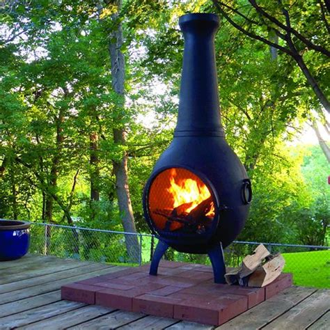 Gallery: Chiminea On A Wood Deck,   DIY HOME DESIGN