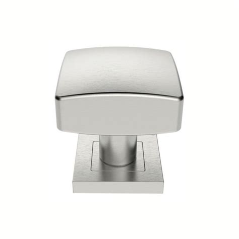 Square Door Knobs by Steelworx Ssk1062sss Satin 62mm Square Mortice Door Knobs