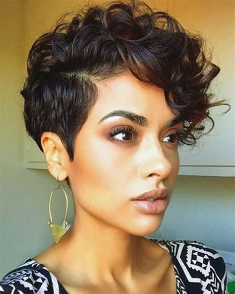hairstyles curly hairstyle tips curly pixie haircuts for 2018 pixie short hairstyle