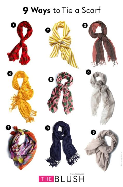 style hacker 9 ways to tie a scarf look lovely