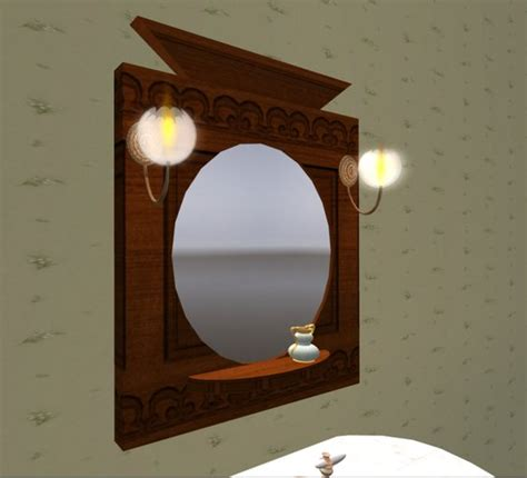 victorian bathroom mirror second life marketplace victorian bathroom mirror