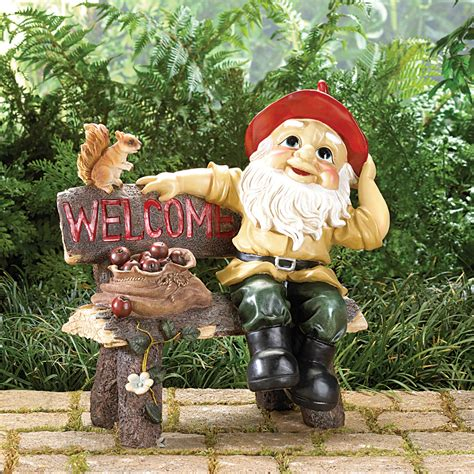 wholesale garden wholesale garden gnome greeting sign buy wholesale gnomes