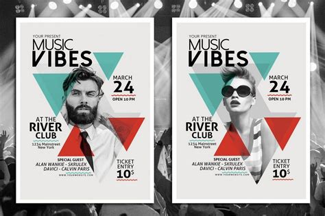 30 best music band flyer templates design shack
