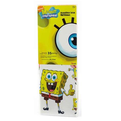 Spongebob Wall Stickers spongebob squarepants 35 piece wall sticker set new