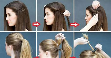 daily hairstyles at home 16 super simple hairstyles for the lazy girl in all of us